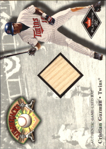 Photo of 2001 Fleer Platinum Lumberjacks #14 Cristian Guzman