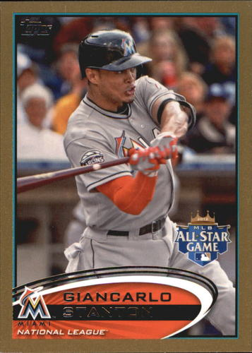 Photo of 2012 Topps Update Gold #US129 Giancarlo Stanton