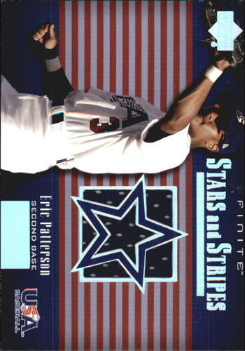 Photo of 2003 Upper Deck Finite Stars and Stripes Game Jersey #J15 Eric Patterson