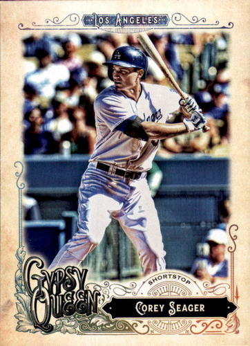 Photo of 2017 Topps Gypsy Queen #150A Corey Seager
