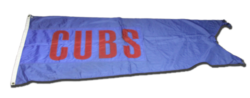 Wrigley Field Collection -- Rooftop Flag -- Cubs