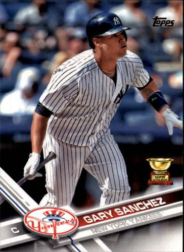 Photo of 2017 Topps #7 Gary  -- Yankees post-season