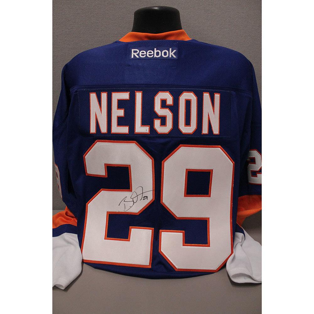 Islanders Replica Brock Nelson Jersey (Reebok)-  Autographed by Brock Nelson (Size XL)