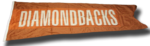 Photo of Wrigley Field Collection -- Scoreboard Flag -- Diamondbacks
