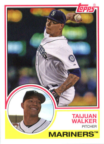 Photo of 2015 Topps Archives #231 Taijuan Walker