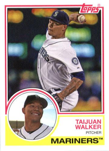 Photo of 2015 Topps Archives #231 Taijuan Walker