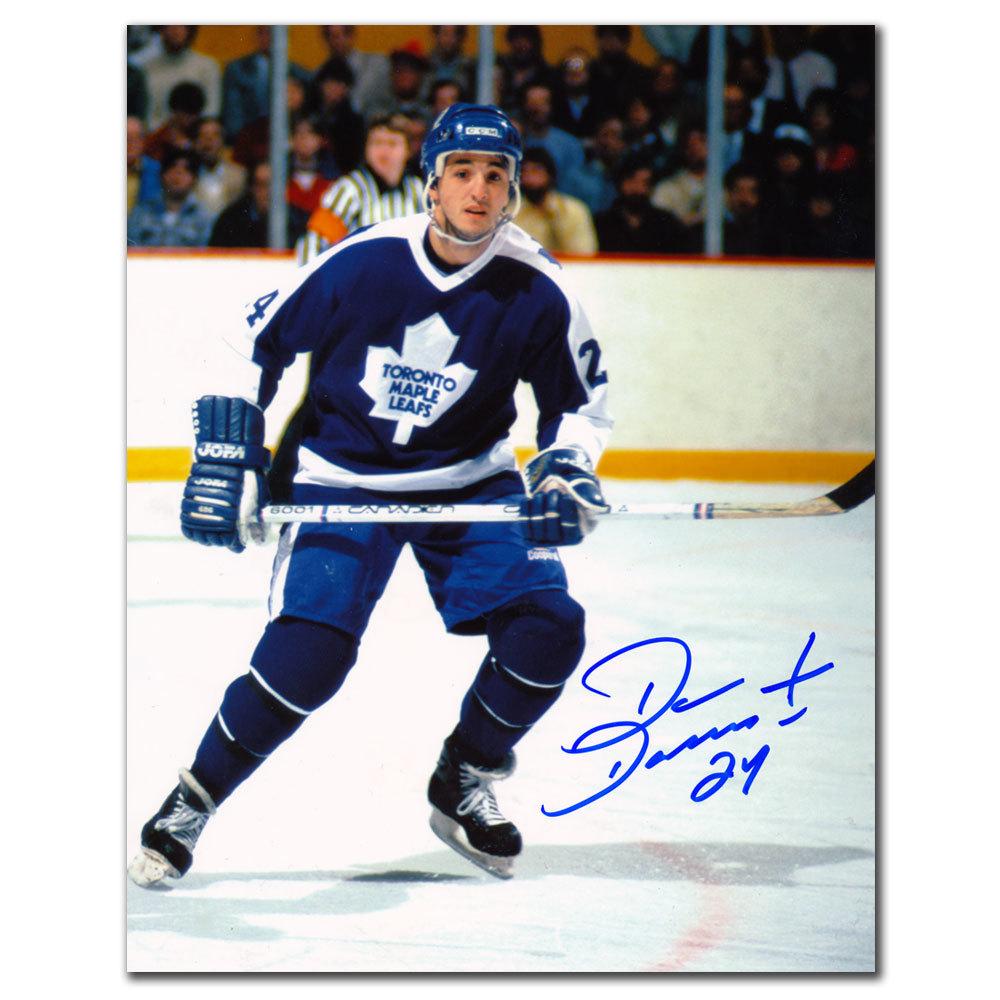 Dan Daoust Toronto Maple Leafs Autographed 8x10