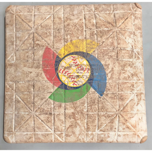 Photo of 2017 World Baseball Classic Game Used Base- 2nd Base (Mexico at Venezuela)