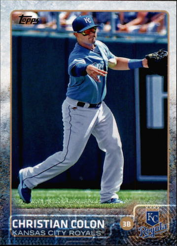 Photo of 2015 Topps #495 Christian Colon