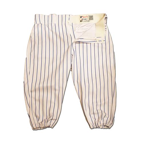 Photo of J.D. Davis #28 - Team Issued White Pinstripe Pants - 2019 Season
