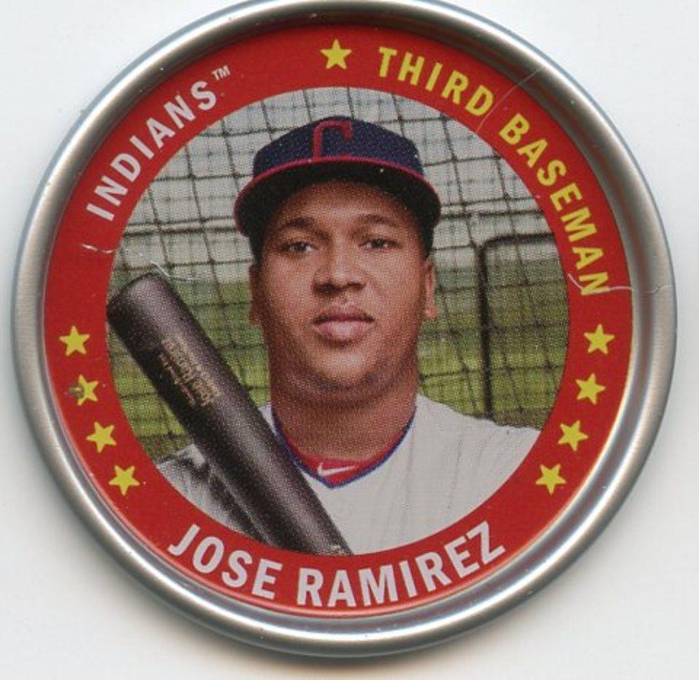 2019 Topps Archives Coins #C9 Jose Ramirez