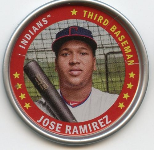 Photo of 2019 Topps Archives Coins #C9 Jose Ramirez