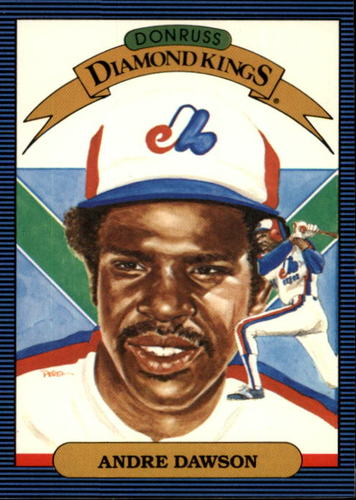 Photo of 1986 Donruss #25 Andre Dawson DK