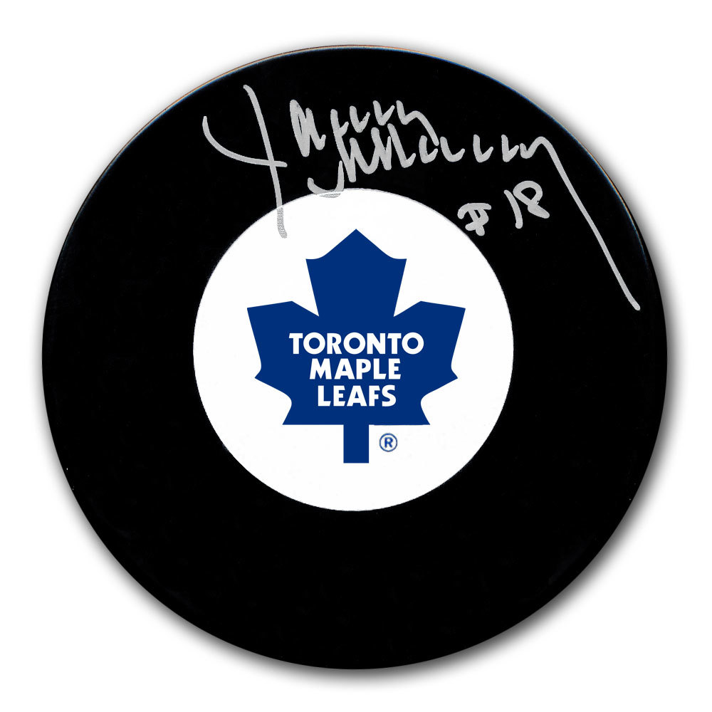 Jim McKenny Toronto Maple Leafs Autographed Puck