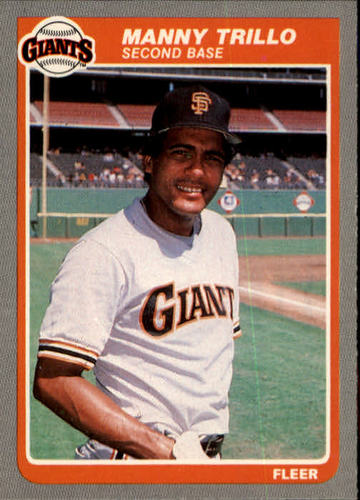 Photo of 1985 Fleer #622 Manny Trillo