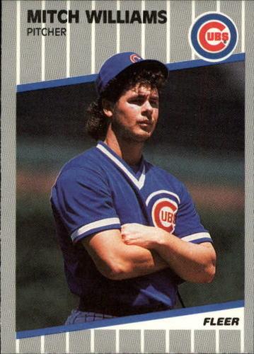Photo of 1989 Fleer Update #81 Mitch Williams