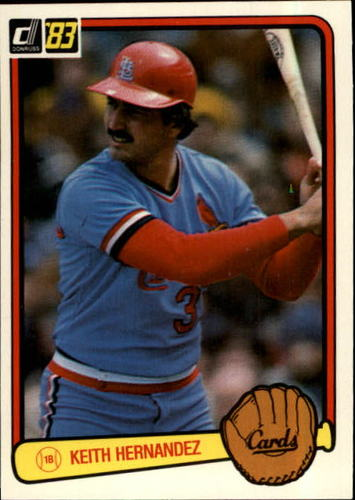Photo of 1983 Donruss #152 Keith Hernandez