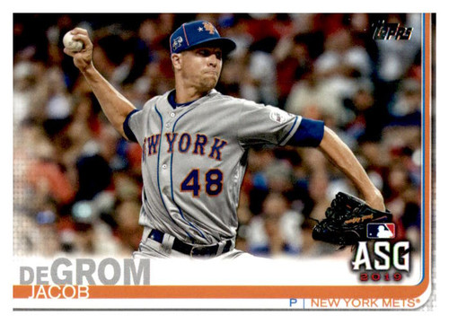 Photo of 2019 Topps Update #US267 Jacob deGrom AS