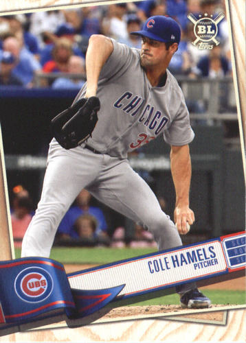Photo of 2019 Topps Big League #285 Cole Hamels