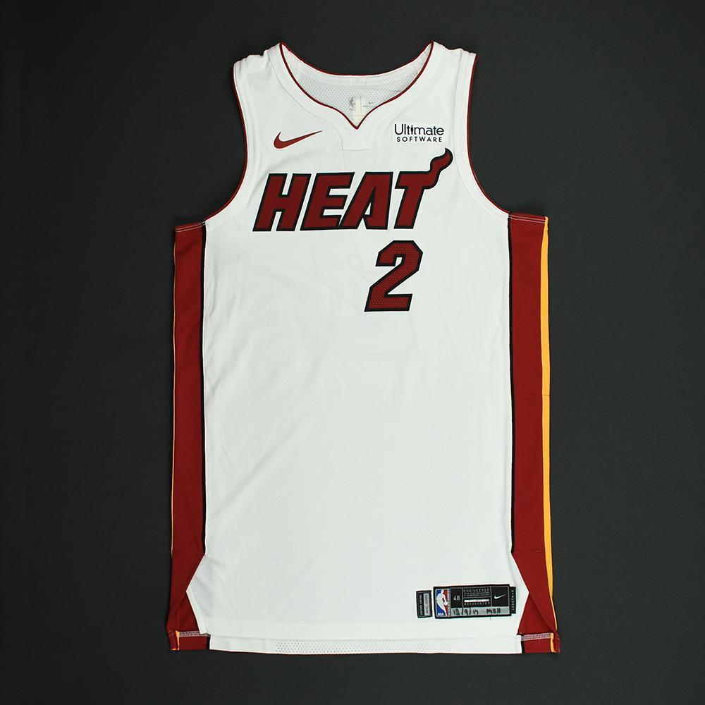Wayne Ellington - Miami Heat - NBA Mexico Games - Game-Worn Association Edition Jersey - 2017-18 NBA Season