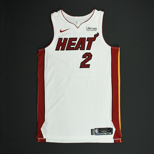 Image of Wayne Ellington - Miami Heat - NBA Mexico Games - Game-Worn Association Edition Jersey - 2017-18 NBA Season