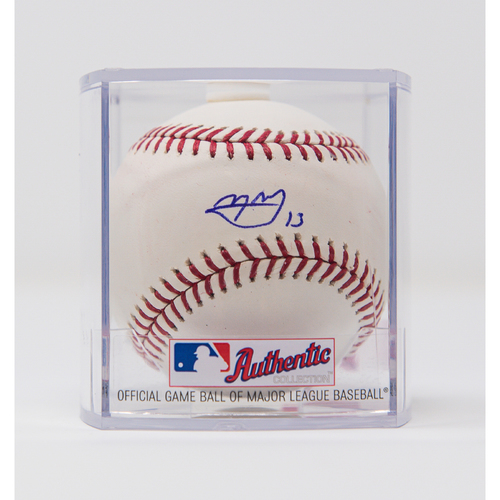 Photo of Manny Machado Autographed Baseball - NOT MLB Authenticated - Certificate of Authenticity Included
