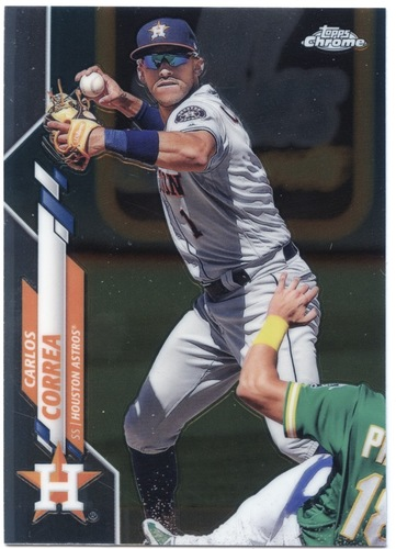 Photo of 2020 Topps Chrome #29 Carlos Correa