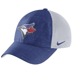 17ae80974f971 Description. High density embroidered Blue Jays logo  Stitched Nike ...