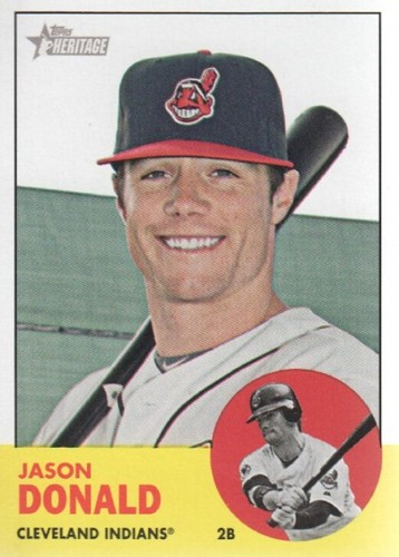 Photo of 2012 Topps Heritage #317 Jason Donald
