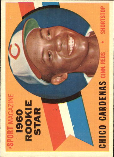 Photo of 1960 Topps #119 Chico Cardenas RS RC