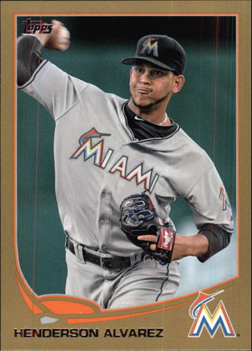Photo of 2013 Topps Gold #358 Henderson Alvarez