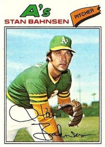 Photo of 1977 Topps #383 Stan Bahnsen