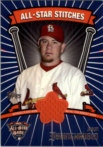 Photo of 2005 Topps Update All-Star Stitches #JI Jason Isringhausen E
