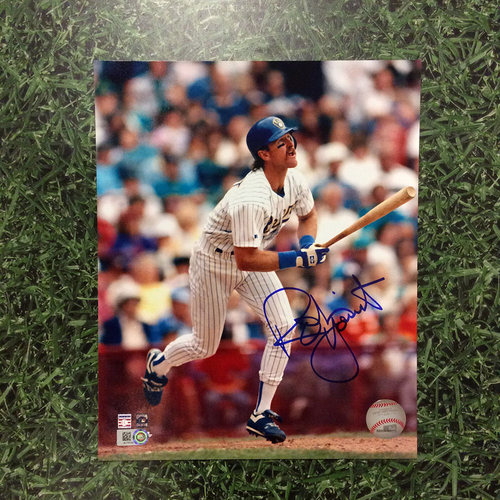 Robin Yount Autographed 8