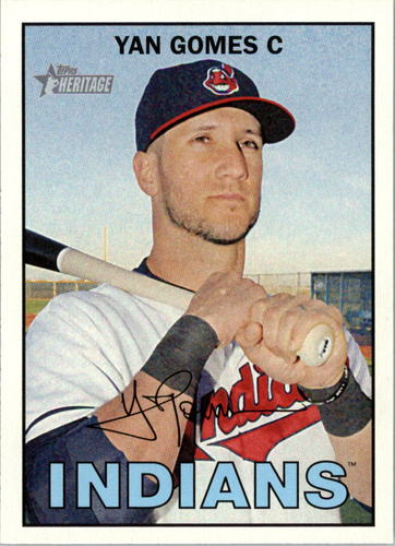 Photo of 2016 Topps Heritage #15 Yan Gomes