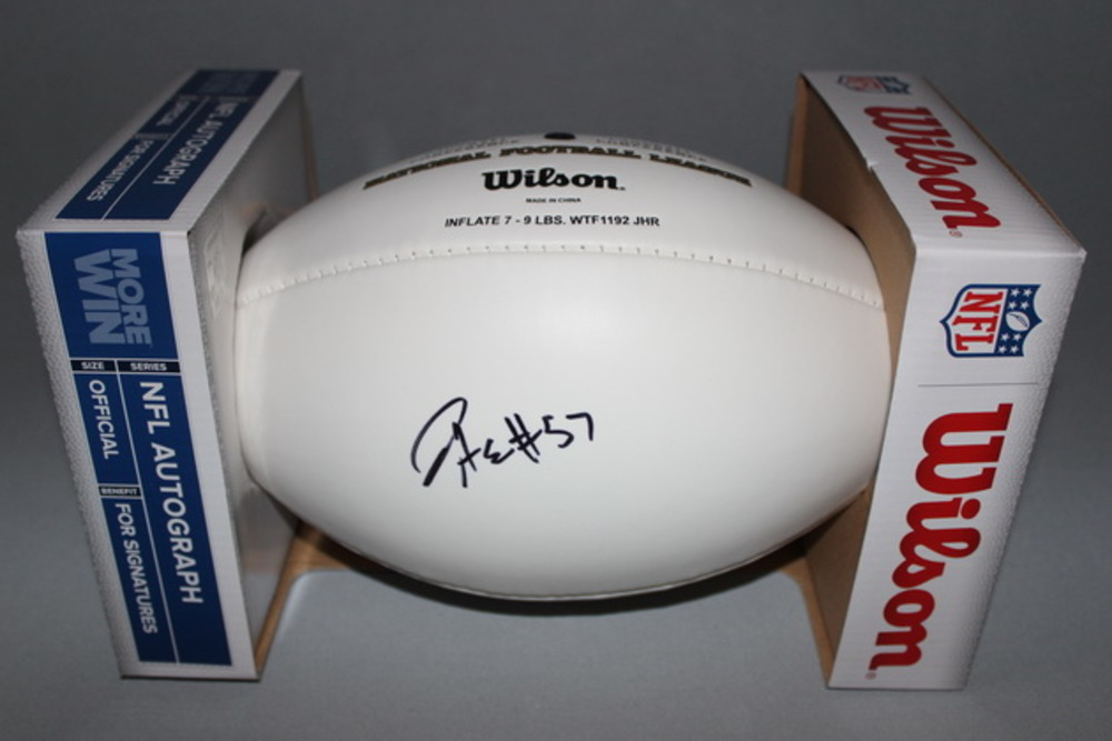 NFL - Eagles D.J. ALEXANDER SIGNED PANEL BALL