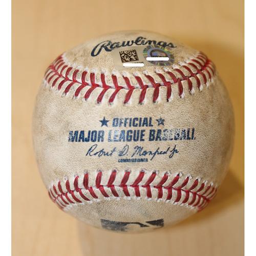 Photo of Game-Used Baseball: Avisail Garcia 406th Career Hit (CWS at KC - 5/4/17)