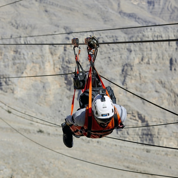 Click to view Take on the World's Longest Zip Line in Ras Al Khaimah.