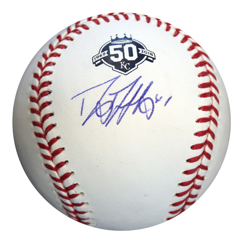 Photo of Autographed 50th Season Baseball: Danny Duffy
