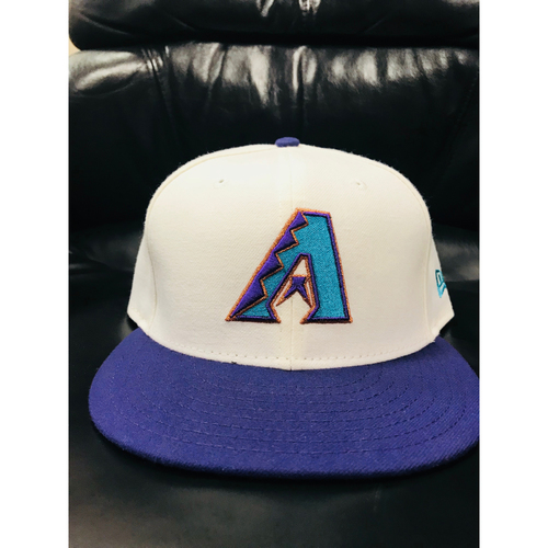 Photo of Tony Perezchica White Throwback Cap
