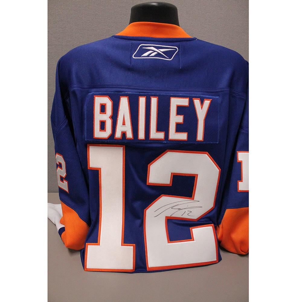 Islanders Replica Josh Bailey Jersey (Reebok)- Autographed by Josh Bailey (Size XXL)