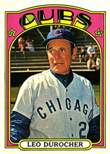 Photo of 1972 Topps #576 Leo Durocher -- Hall of Fame Class of 1994