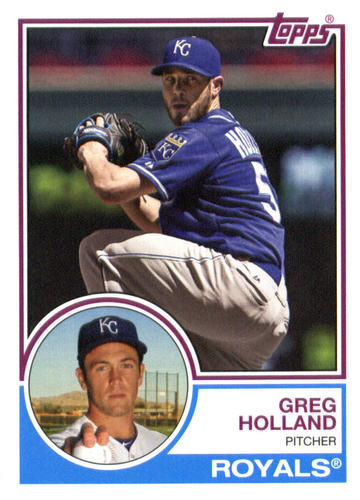 Photo of 2015 Topps Archives #233 Greg Holland