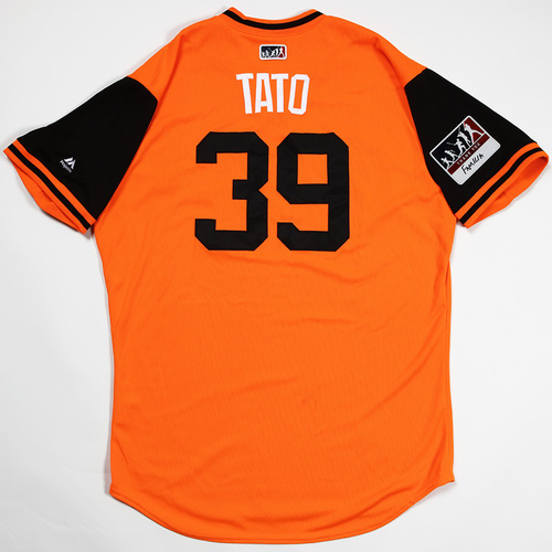 "Photo of Renato ""Tato"" Nunez Baltimore Orioles Game-Used 2018 Players' Weekend Jersey"