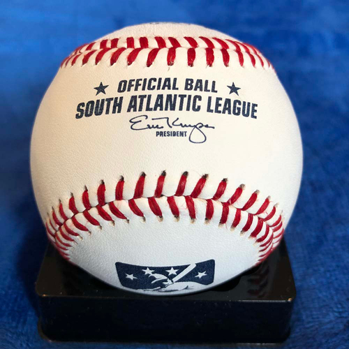 Photo of UMPS CARE AUCTION: South Atlantic League Baseball Signed by Bill Murray