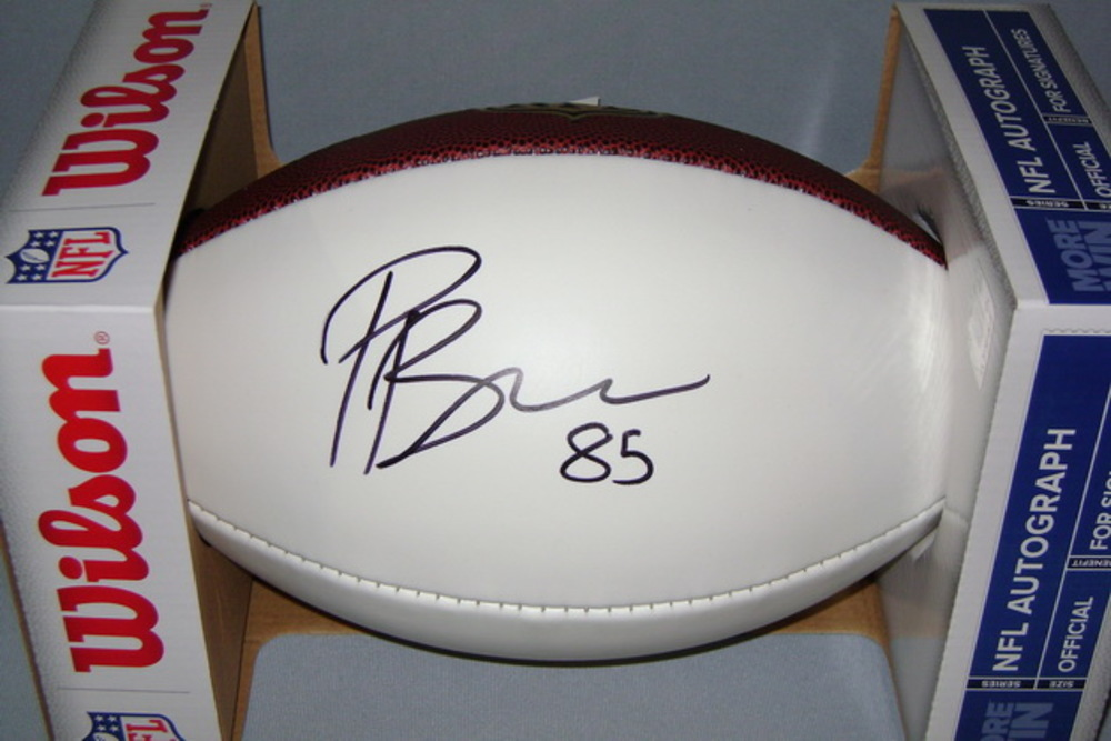 NFL - BROWNS PHARAOH BROWN SIGNED PANEL BALL