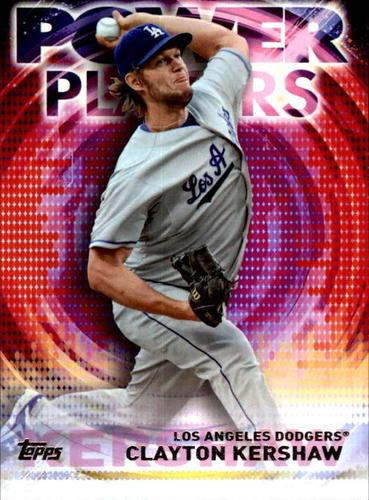 Photo of 2014 Topps Update Power Players #PPACK Clayton Kershaw