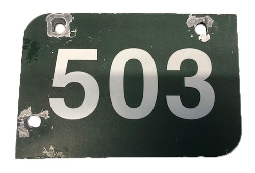 Photo of Wrigley Field Collection -- Aisle Marker 503 -- Removed after 2018 Season