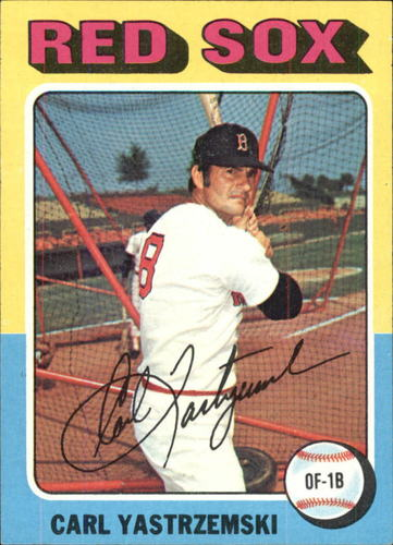 Photo of 1975 Topps #280 Carl Yastrzemski