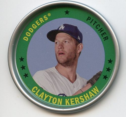 Photo of 2019 Topps Archives Coins #C11 Clayton Kershaw